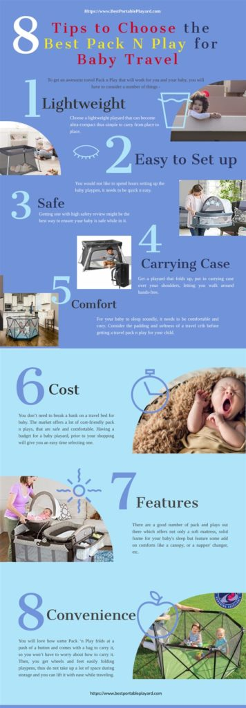 Best Pack and Play for Travel for baby