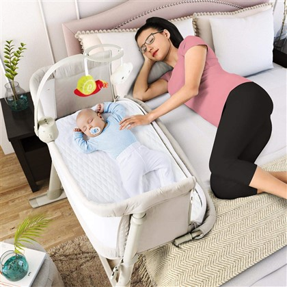 Baby Bassinets – Adjustable and Easy to Assemble Bassinet for Baby