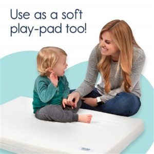 hiccapop Pack and Play Mattress Pad [Dual Sided]